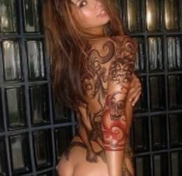 Gatas tatuadas! Ô lá em casa