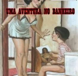 Uma aventura no banheiro (madrasta tarada)