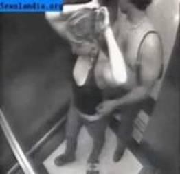 Flagrante em um elevador do Rio