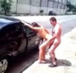 Sexo ao vivo na avenida de São Paulo