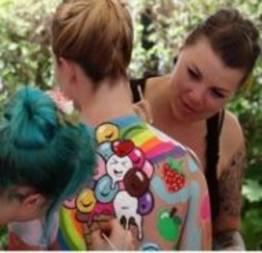 Festival Mundial da pintura corporal na Áustria (32 fotos)