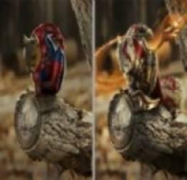 Os esquilos super-heróis
