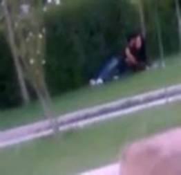 Casal flagrado no campus da universidade