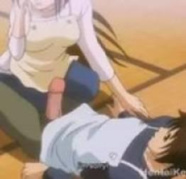 Hentai safada mamando a piroca