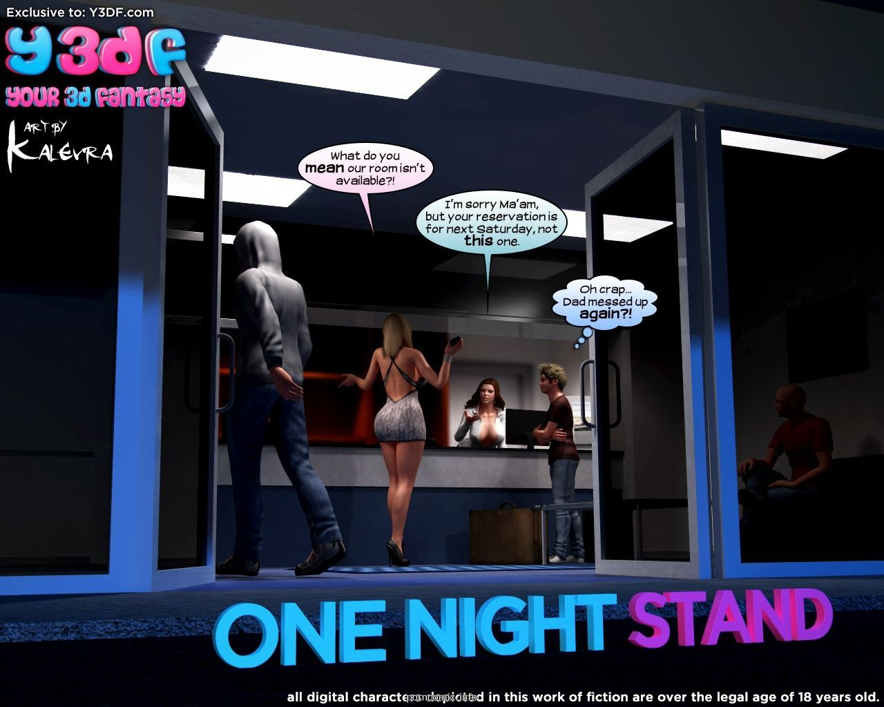Y3DF – Sexo casual na noite
