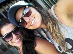 Vazou no whatsApp vídeo caseiro das amigas Brenda Prado e Aline Piriquita de Minas Gerais transando