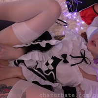 Rem gets dildo in ass cosplay - Japa Sexy
