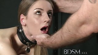 BDSM XXX Young big breasted sub gets hard anal from master - TEEN PORN