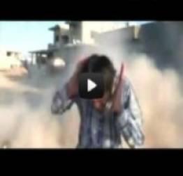 Bomba quase mata repórter 2 vezes. AO VIVO!!!