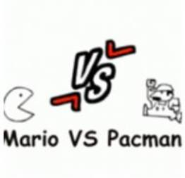 Pac-Man vs Mario