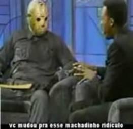 Apresentador tira onda com Jason durante entrevista