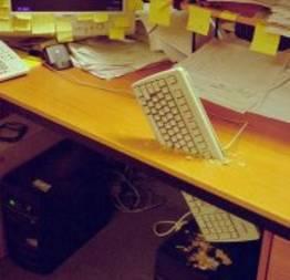 Você já fez alguma dessas coisas pra aliviar o estresse do trabalho?