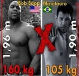 Minotauro vs Bob Sapp: Uma das melhores lutas da história do MMA.