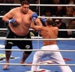 Royce Gracie vs Akebono: A luta do gigante contra o homem pequeno.