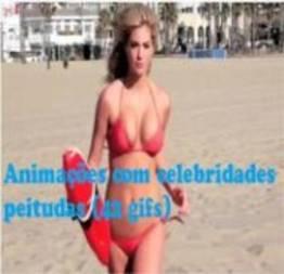 Animações sensuais com celebridades peitudas (42 gifs)