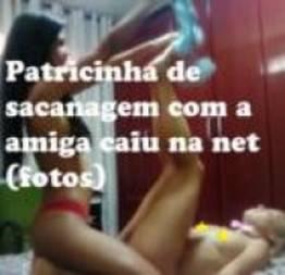 Patricinha de sacanagem com a amiga caiu na net (fotos)