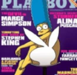 Playboy edição especial Marge Simpson