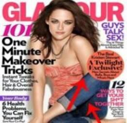 Celebridades em Revistas com erros de Photoshop (30 fotos)