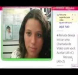 Renatinha safada bombando no skype