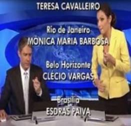 Patricia poeta comete gafe no jornal nacional
