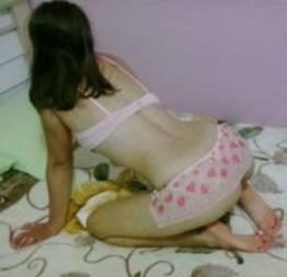 Roselaine dando cu ao primo no quarto