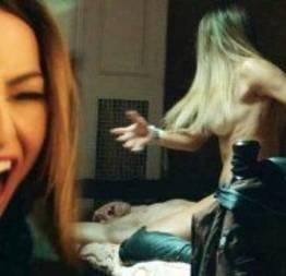 Sabrina Sato em cenas de sexo no filme o concurso!
