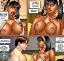Priminha gostosa 8 quadrinhos eróticos seiren