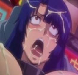 Chuva de porra na cara da hentai