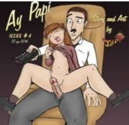 Ay papi 04 pai tirando o cabaço da filha