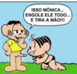 Quadrinhos eróticos da turma da mônica