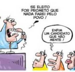 Promessas de candidatos durante campanha eleitoral