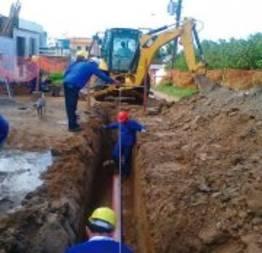 Rede de esgotamento sanitário vai custar r$ 80 milhões ao governo