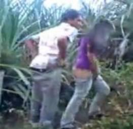 Novinha transando no mato