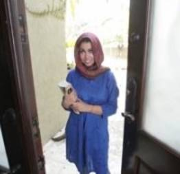 Estudante muçulmana procura lugar pra ficar