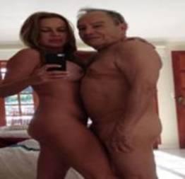Stênio Garcia com sua esposa nu pelado caiu na net