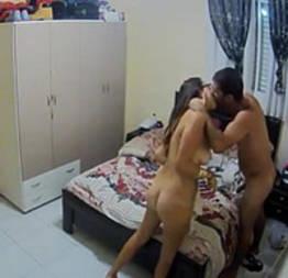 Namorada tesuda foi filmada dando sem saber   videos porno
