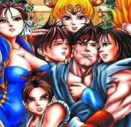 Strip fighter: quadrinho porno com personagens de games famosos
