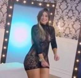 Colombiana safada deixando o apresentador de pau duro - porno cafajeste