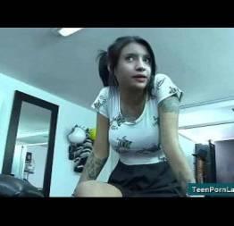 Teen latina video 13