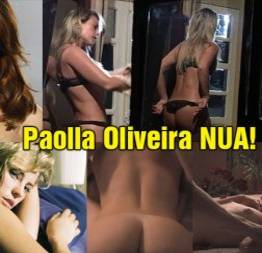 Atriz paolla oliveira caiu na net nua nos bastidores da série assédio   só gatin