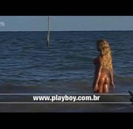 Teen girl from brazil beach