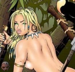 Acervo hentai +18 : a rainha das selvas