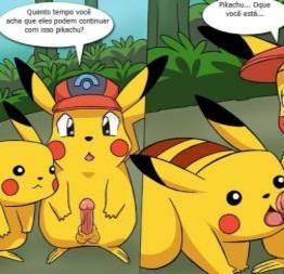Pikachu fodendo seus amiguinhos