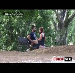 Com uma desculpa de picnic comeu a namoradinha ao ar livre