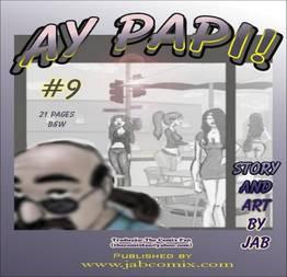 Ay Papi 09 - Historinhas de sexo em família