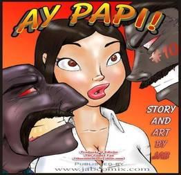 Ay Papi 10 - Quadrinhos eróticos incesto grátis