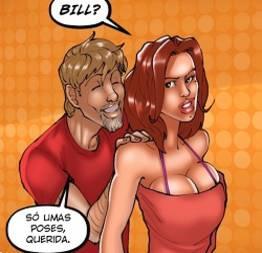 Bill marido corno vendo a esposa foder com outro