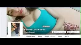 Fabielle fez video chat e namorado gravou e vazou - Ninfetinhas Gostosas