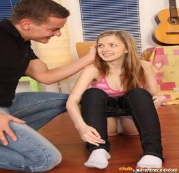 O professor de musica provocou e a novinha fodeu com o cara