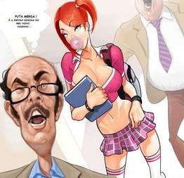 Professor Pinkus fodendo com aluna gostosa